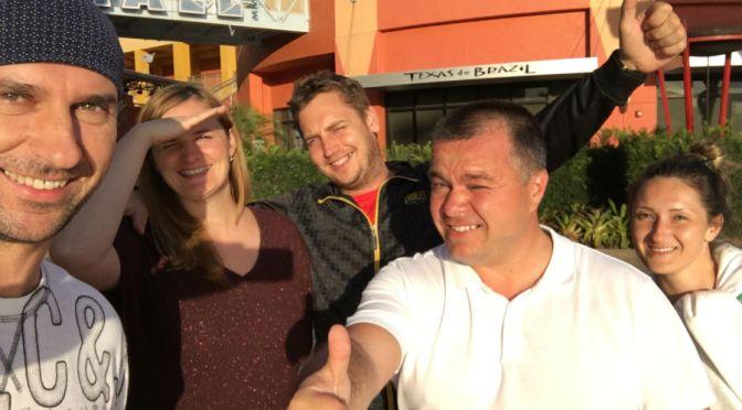 S Marekom Adamcom a jeho Company – Osobna Doprava – Pristav, Dolphin Mall, Letisko Miami