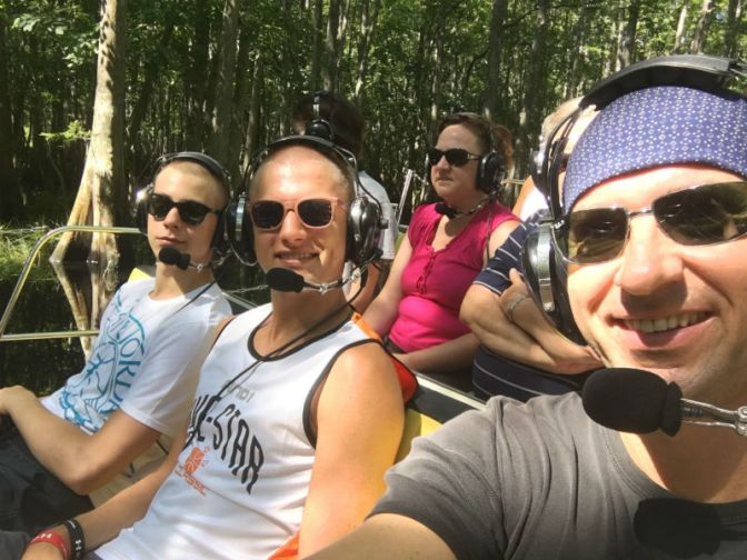 S VIP klientmi v Orlando, Tampa 24, 25, 29 Jul 2016 | Everglades  + Nakupy + Odvoz
