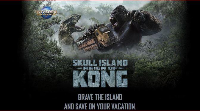 Universal Orlando Resort spúšťa novú atrakciu – Skull Island: Reign of Kong™