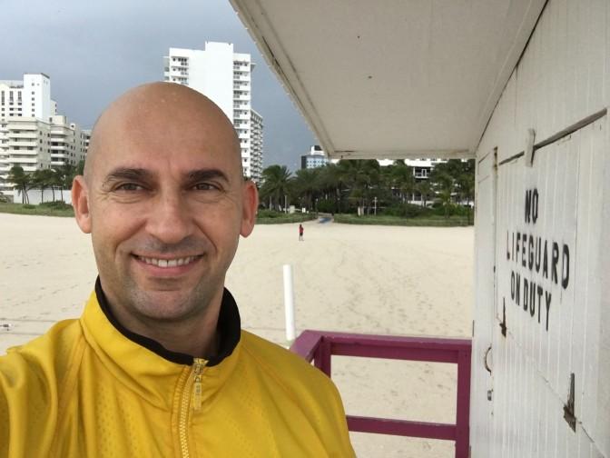 Mapoval som Hurikan Matthew – Miami Beach, Florida