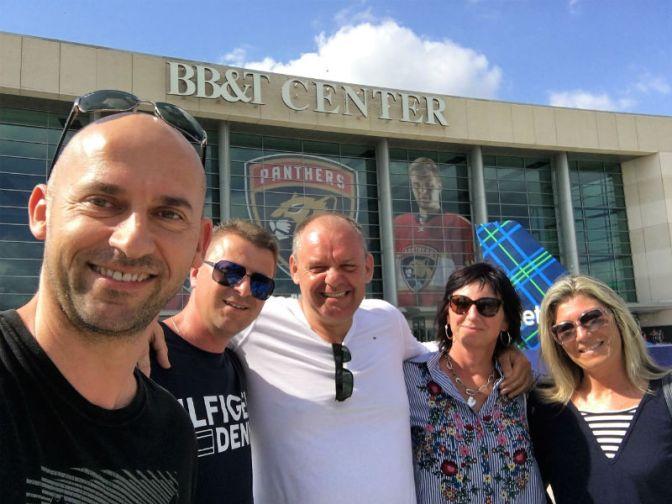 3-5.4.2017 | Klienti Szeibeczeder, Meszaros – NHL, Nakupy, Letisko