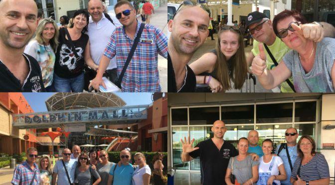 1.4.2017 | Pracovny den v Miami. Klienti Murgasovci + Szeibeczederovci so skupinou. Pristav, Hotel, Letisko, Dolphin Mall